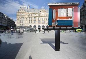 La salle de bain Ikea en live avec ubi bene | streetmarketing | Scoop.it