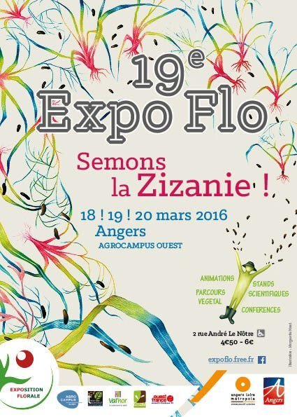 Exposition Florale Agrocampus Ouest Angers | HORTICULTURE BOTANIQUE | Scoop.it