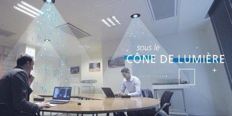 Internet par la lumière: le français Lucibel lance le premier luminaire Li-Fi au monde | Le Zinc de Co | Scoop.it