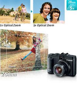 Canon PowerShot G16 12.1 MP CMOS Digital Camera | Gadget World Store | Camera | Scoop.it