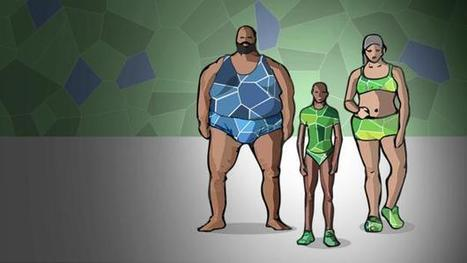 Rio Olympics 2016: Who's your Olympic body match? | Anthropometry and Kinanthropometry | Scoop.it