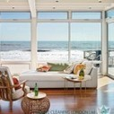 How to furnish a sunny beach house   Home decoration   Scoop.it