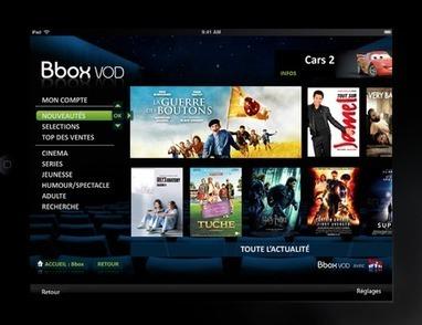 Lancement de la Bbox Sensation, intéractivité avec les tablettes | La TV connectée et le commerce by JodeeTV | Scoop.it