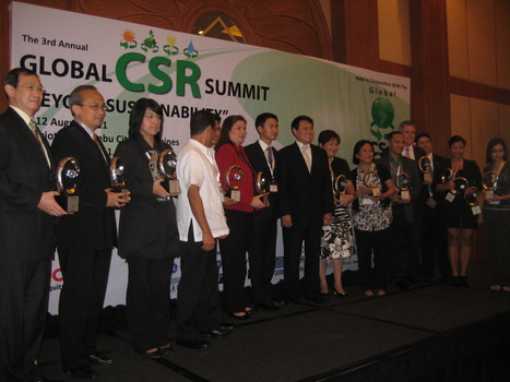 3rd Global CSR Summit Awards New Winners in Cebu City | Earth Citizens Perspective | Scoop.it