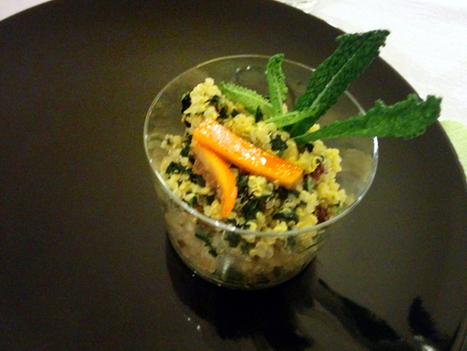 Quinoa con cavolo e arancia | Foods of the World | Scoop.it