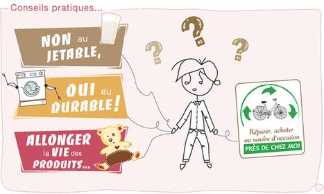 Produits pour la vie : passer d'un monde jetable à la consommation de produits durables - Les Amis de la Terre   Bleue comme une orange   Scoop.it