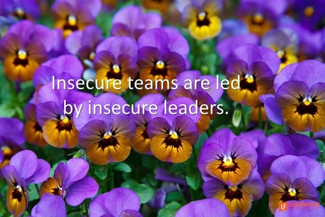 Top 10 Behaviors of Insecure Leaders | New Leadership | Scoop.it