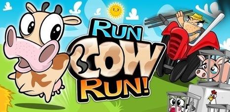 Run Cow Run, le jeu vegan sur Android   Vegactu - végétarien, végétalien et végan   Scoop.it
