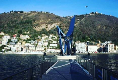 """Property At Lake Como on Instagram: """"The New modern statue in Como done by Daniel Libeskind marks #Statue #LakeComo #Italy #Daniel #Libeskind #Marks #Architecture #Best…""""   Villa for Sale Lake Como   Scoop.it"""