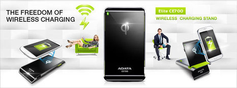 ADATA CE700 Wireless Charging Stand Supports Qi Specification - Qi Wireless Charging | Wireless Charging Stand Supports Qi Specification | Scoop.it
