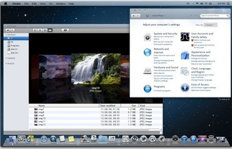 How To Make Windows 7 And Windows 8 Look Like Mac Mountain Lion | how to make windows 8 look like mac os mountain lion or lion | Scoop.it