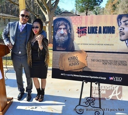 """T.I. & Tiny's 'Give Like A King"""" Foundation Houses Homeless U.S. Veterans… [PHOTOS + VIDEO]   GetAtMe   Scoop.it"""