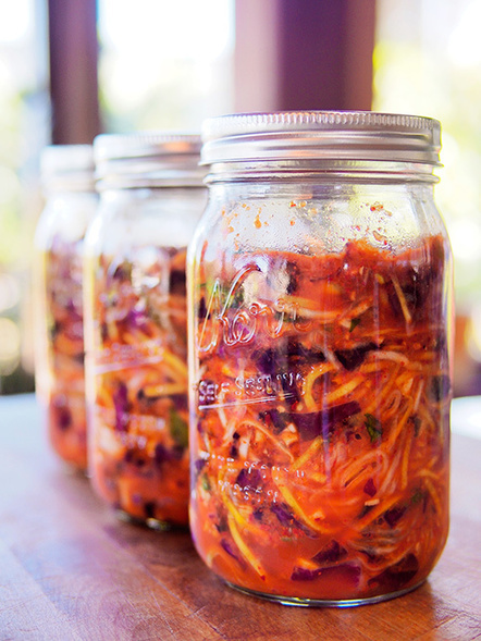 Red Cabbage Kimchi | Garden Betty | Real Food and Health | Scoop.it