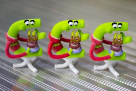 Chronodrive fête ses 10 ans avec l'impression 3D | Press review | Scoop.it