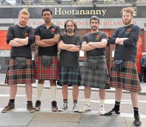 Scottish Waiters Stop Wearing Kilts Due to Constant Groping by Women | Strange days indeed... | Scoop.it