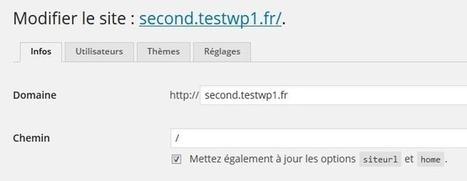 Installation multi-site multi-domaine avec WordPress | Wordpress, SEM et Webmarketing | Scoop.it