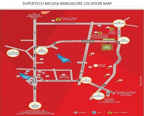 Make investment on the Supertech latest project – Supertech Micasa ~ Real Estate Property in Noida | UK Capital Investments Group | Scoop.it