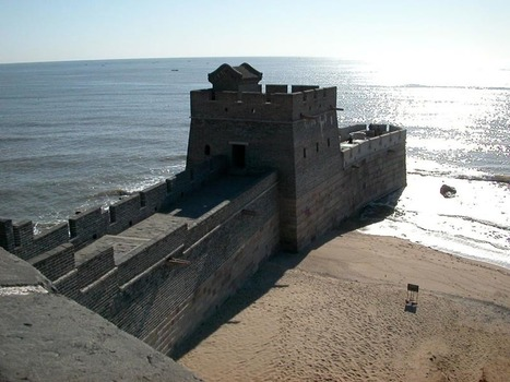 China: Great wall meets the sea... | Wicked! | Scoop.it