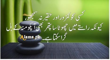 Aqwal-e-Zareen - Urdu Quotes | Knowledge and Wisdom | Scoop.it