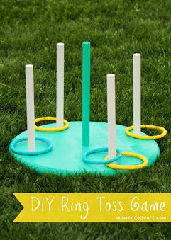 DIY : un jeu de lancer! | Enfant bébé maman | Scoop.it
