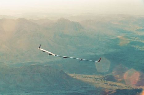 Facebook completes first test flight of its unmanned Aquila | ICT & OER in Education | Scoop.it
