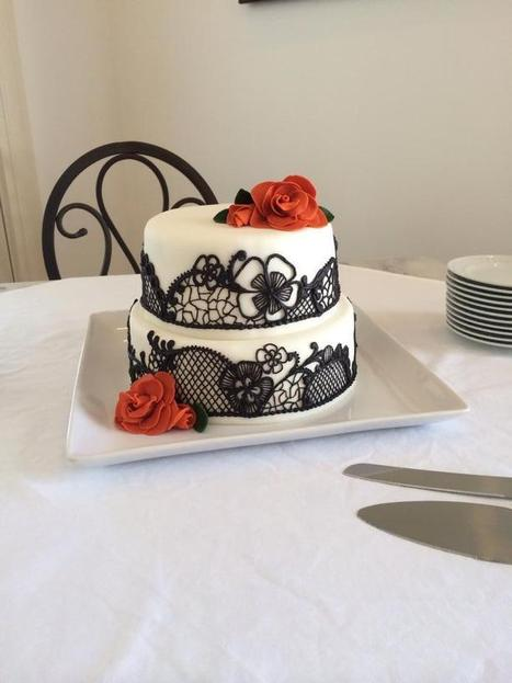 Lace Wedding Cake   Central New York Traveler   Scoop.it