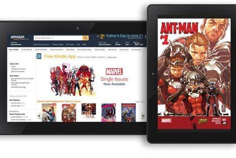 Amazon 12 bin Marvel çizgi romanını Kindle mağazasına taşıyor | Kindle Haberleri | Scoop.it