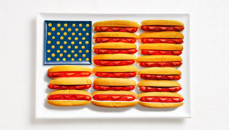 National Flags Created From the Foods Each Country Is Commonly Associated With | HAPI Eating | Scoop.it