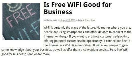 San Jose Internet Providers: Free Wi-Fi Means More Business for You | T Link Broadband Services | Scoop.it