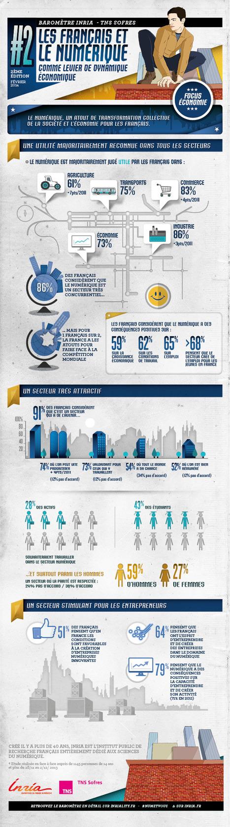 Les Français et le numérique en 2014 : 4 profils type, 10 chiffres clés et 2 infographies informatives | Entreprise et Stratégie Digitale | Scoop.it