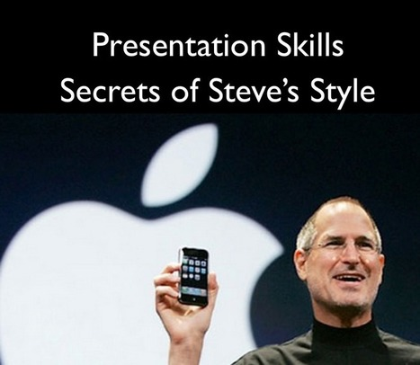 Steve Jobs Presentation Skills - VIDEO Business English - The English Blog | employability | Scoop.it