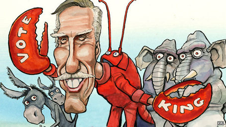 Man in the middle: Angus King of Maine | Coffee Party News | Scoop.it