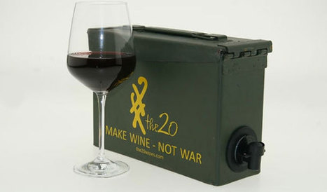 Make Wine, Not War — Drink Wine Out an of Ammo Box | Foodbeast | #yummyinmytummy | Scoop.it