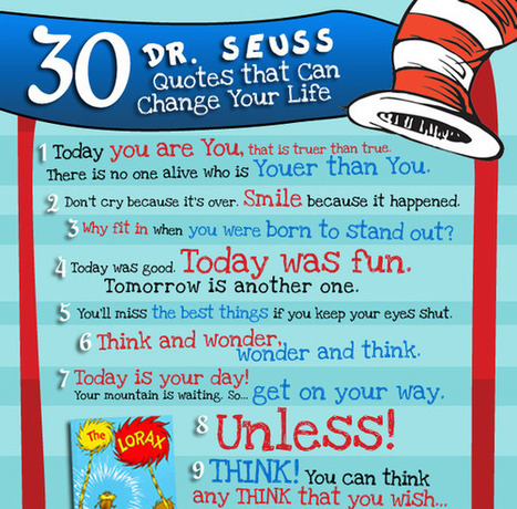 Dr Seuss Words of Wisdom | Ray's Spiritual and Inspirational stuff | Scoop.it