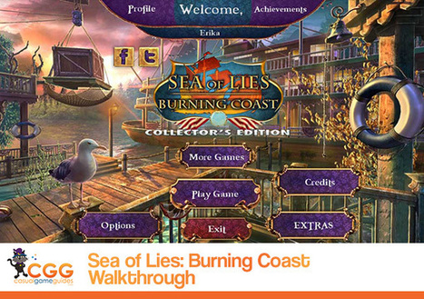 Sea of Lies: Burning Coast Walkthrough: From CasualGameGuides.com | Casual Game Walkthroughs | Scoop.it