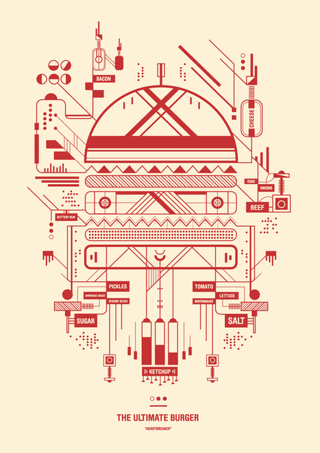 Outstanding Illustrations by UK Artist Petros Afshar - Design You Trust   timms brand design   Scoop.it