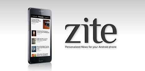 Zite - Applications Android sur GooglePlay | E-learning Resources | Scoop.it