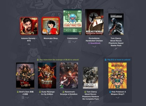 Humble Bundle abandonne ses packs dédiés à Android - Frandroid | Geek in your face | Scoop.it