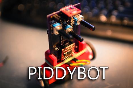 PIDDYBOT - A Self Balancing Teaching Tool.   Open Source Hardware News   Scoop.it