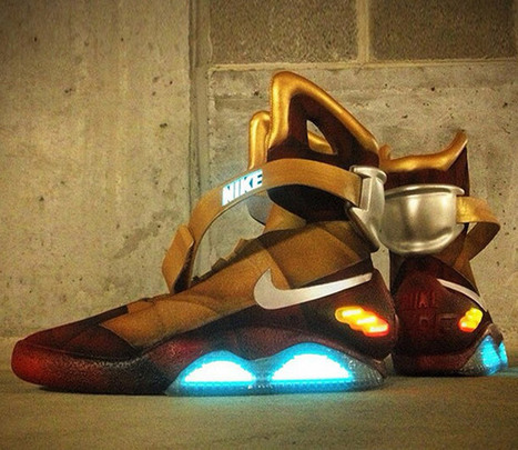 Customized 'Iron Man' Nike Mags! | All Geeks | Scoop.it