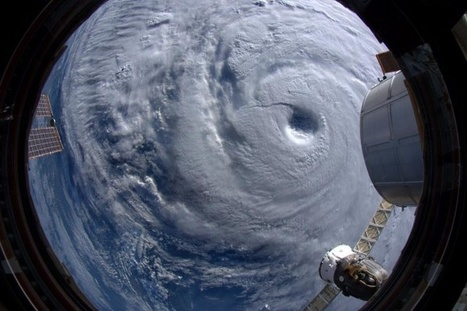 Super Typhoon Neoguri as seen from ISS is humongous ! | pixels and pictures | Scoop.it