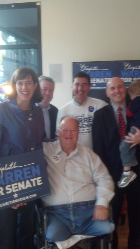 photo: Senator Max Cleland with @SenKClark, @RepBrodeur, Mayor Dolan and Mike Festa Melrose | Massachusetts Senate Race 2012 | Scoop.it