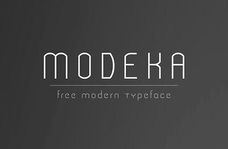 Tipografía Modeka para descargar | Fotografia | Scoop.it