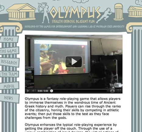 Olympus by the Games for Enterment Learning Lab at MSU | Digital Delights - Avatars, Virtual Worlds, Gamification | Scoop.it