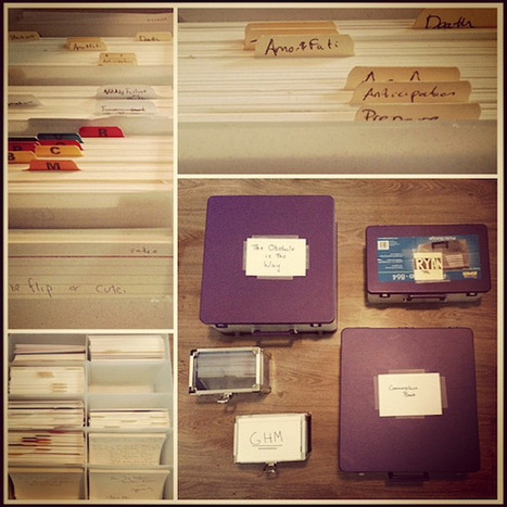 The Notecard System: The Key For Remembering, Organizing And Using Everything You Read | viver para escrever | Scoop.it