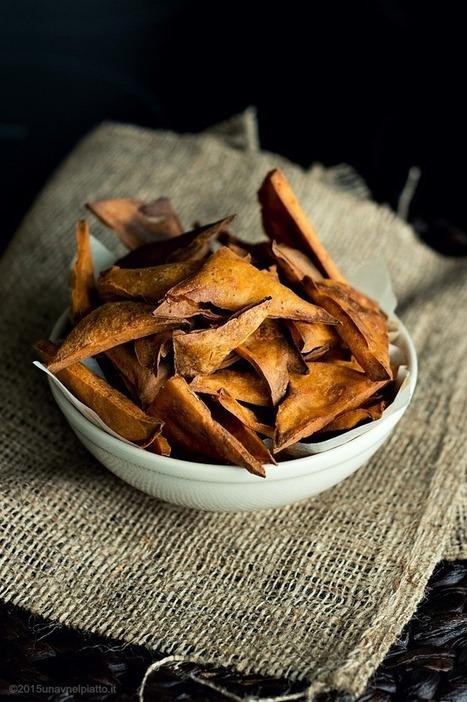 Chips di ceci al pomodoro - Una V nel piatto - Ricette Vegane e Mondo Vegan   Una V nel Piatto   Scoop.it