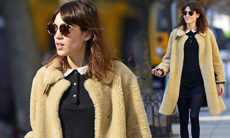 Furry nice: Alexa Chung is in fashion as she shows off her cosy teddy bear ... - Daily Mail | CLOVER ENTERPRISES ''THE ENTERTAINMENT OF CHOICE'' | Scoop.it