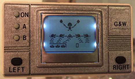 Un Game & Watch fait maison ! » Le Mag de MO5.COM | [OH]-NEWS | Scoop.it