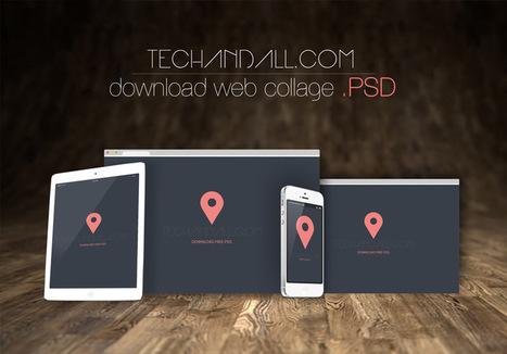50 Mockups PSD para presentar proyectos profesionales | Creación y gestión de Aplicaciones Web & Móvil | Scoop.it