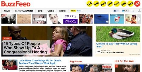 Média en ligne : Buzzfeed révèle sa recette gagnante   Etudes   Scoop.it